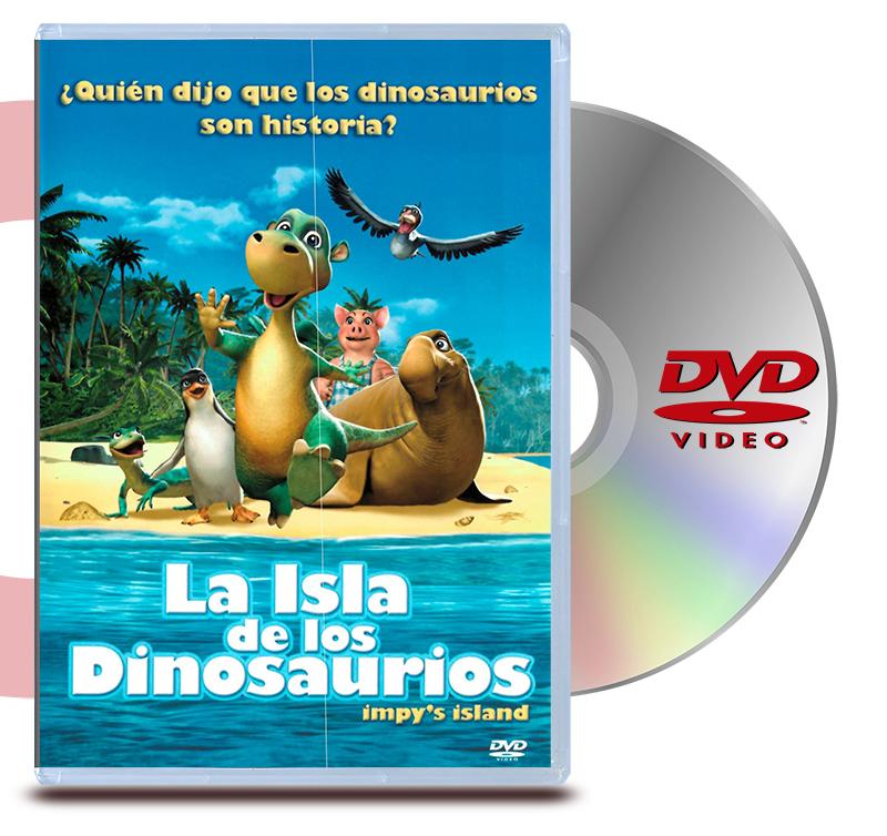 DVD La Isla De Los Dinosaurios