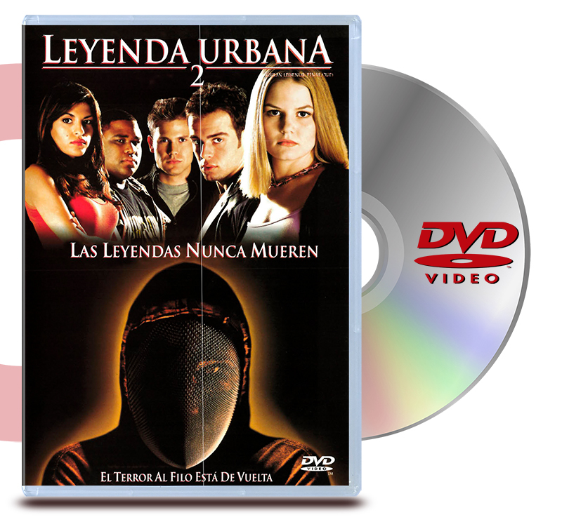 DVD Leyenda Urbana 2