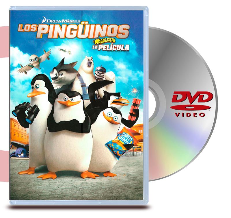 DVD Los Pinguinos De Madagascar