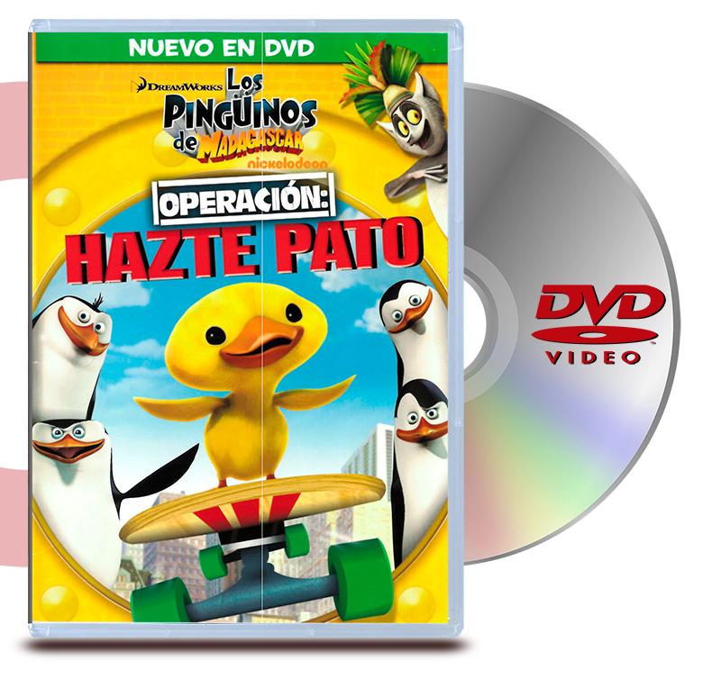 DVD Los Pinguinos De Madagascar: Operacion Haste Pato