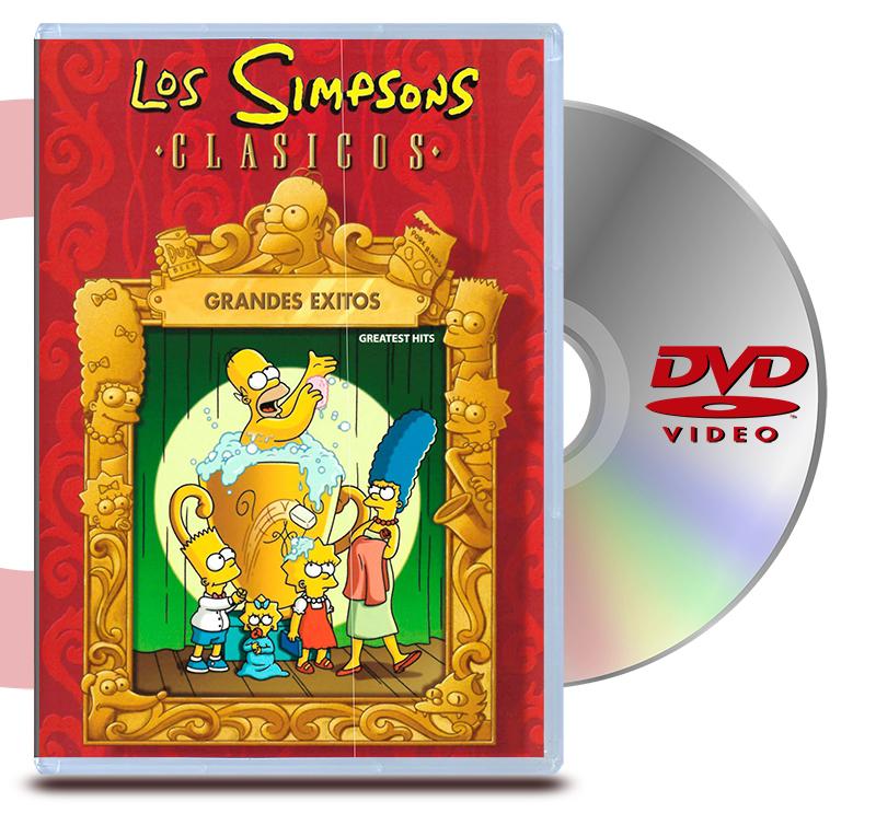 DVD Los Simpsons Grandes Exitos