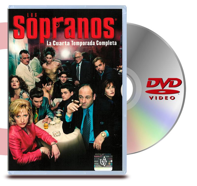 DVD Los Sopranos: Temp 4