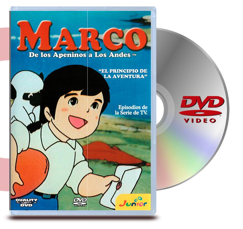 DVD Marco 3  El Principio de la aventura