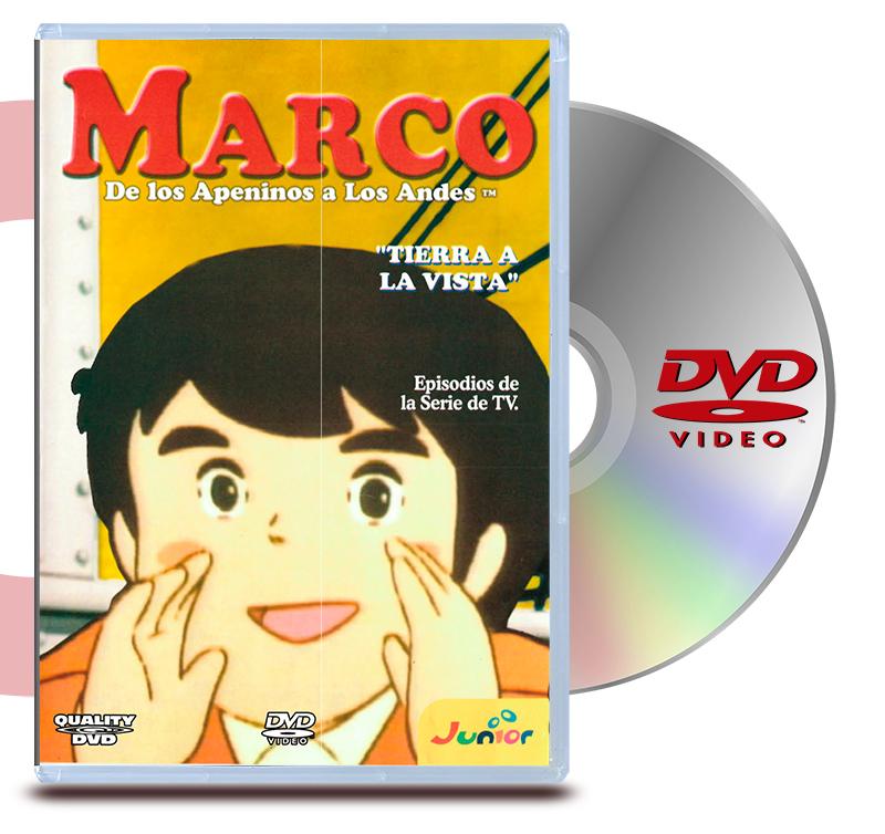 DVD Marco 5 Tierra a la Vista
