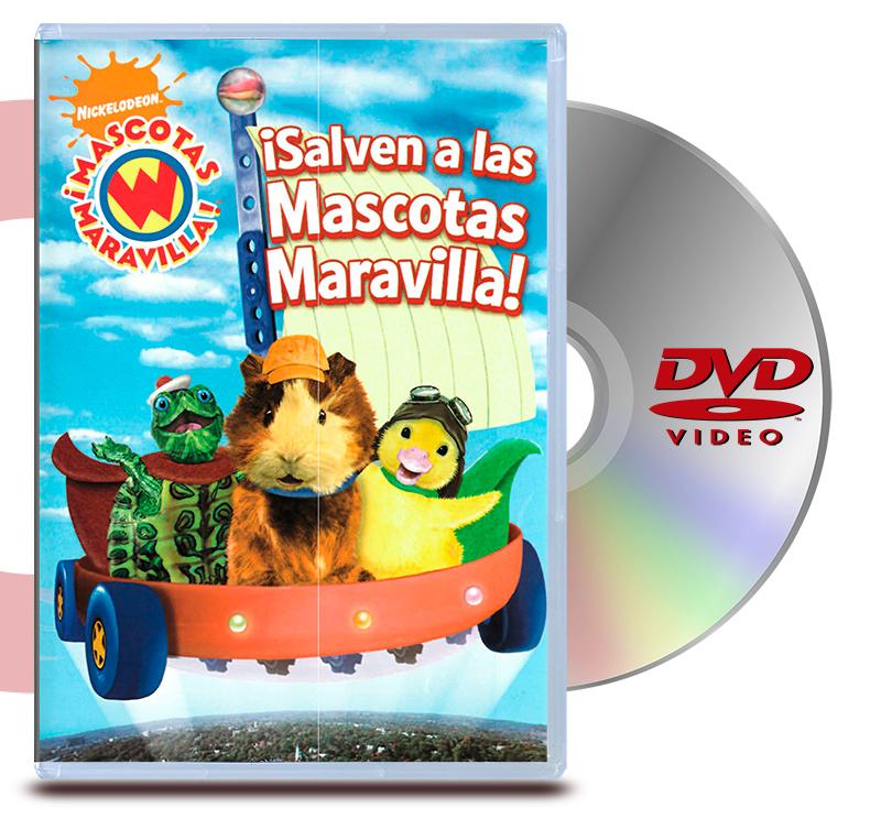 DVD Mascotas Maravilla: Salven A Las Mascotas Mara