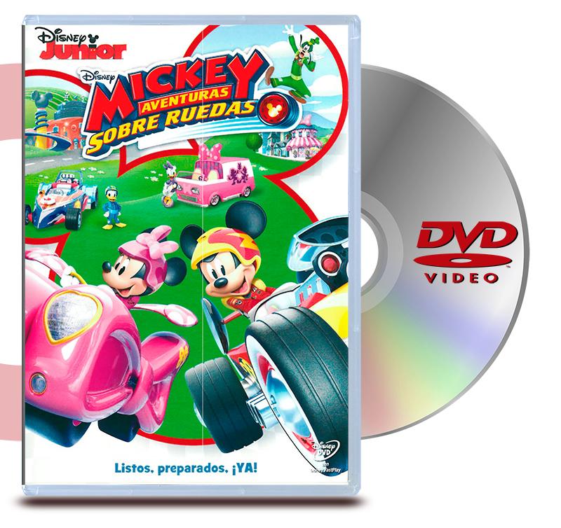 DVD Mickey Una Aventura Sobre Ruedas