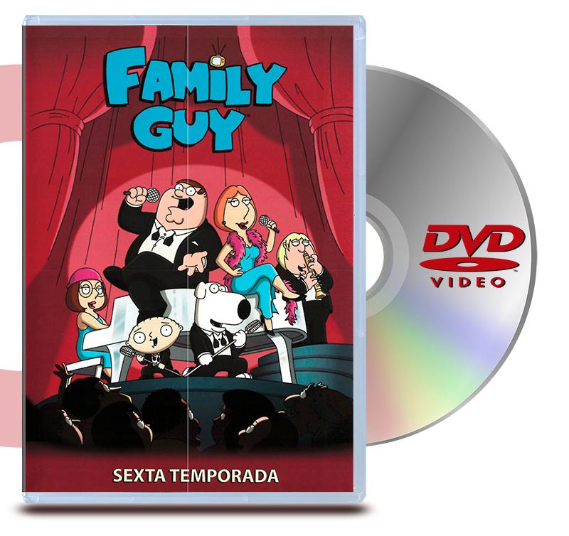 DVD Family Guy Temp 6