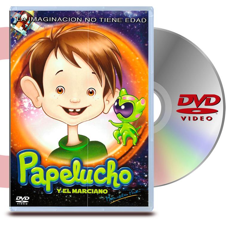 DVD Papelucho Y El Marciano