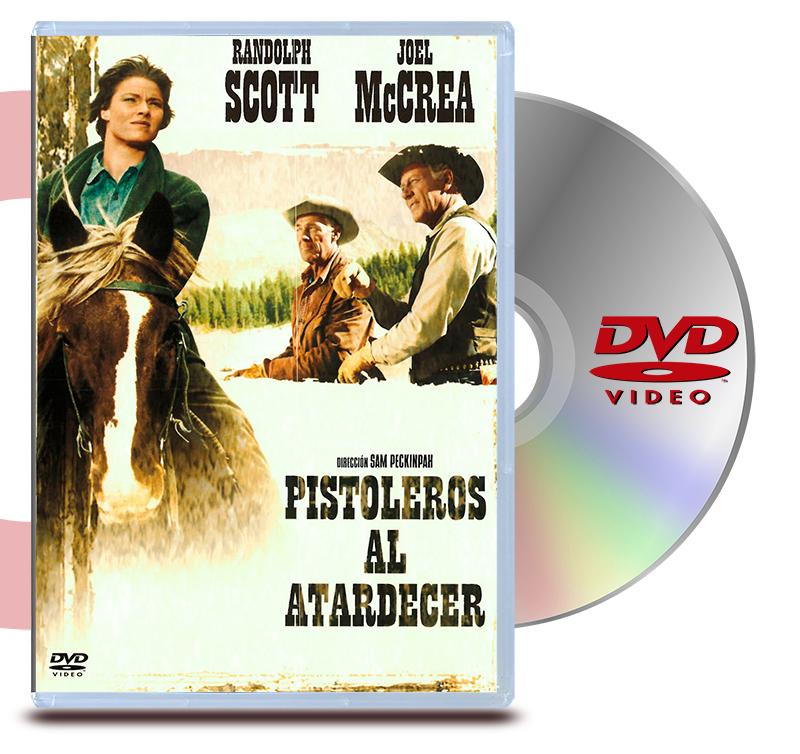 DVD Pistoleros Al Atardecer