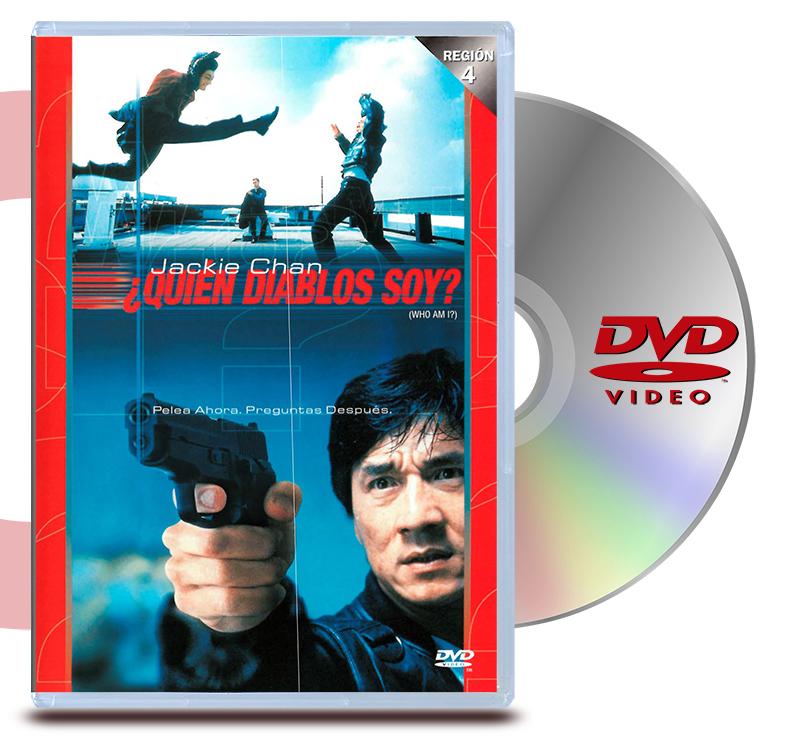 DVD Quien Diablos Soy