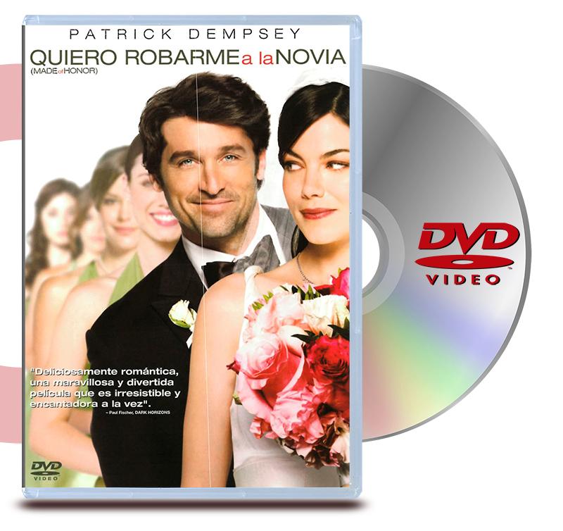 DVD Quiero Robarme A La Novia