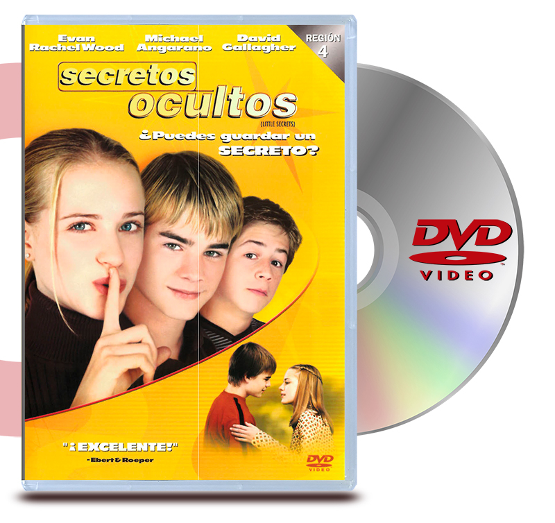DVD Secretos Ocultos