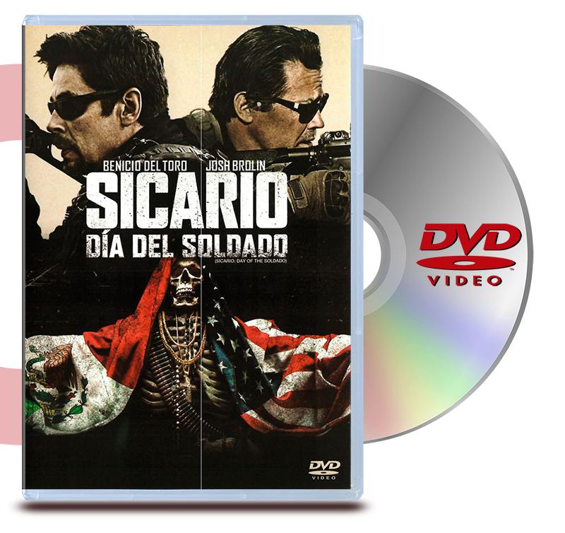 DVD Sicario Dia Del Soldado