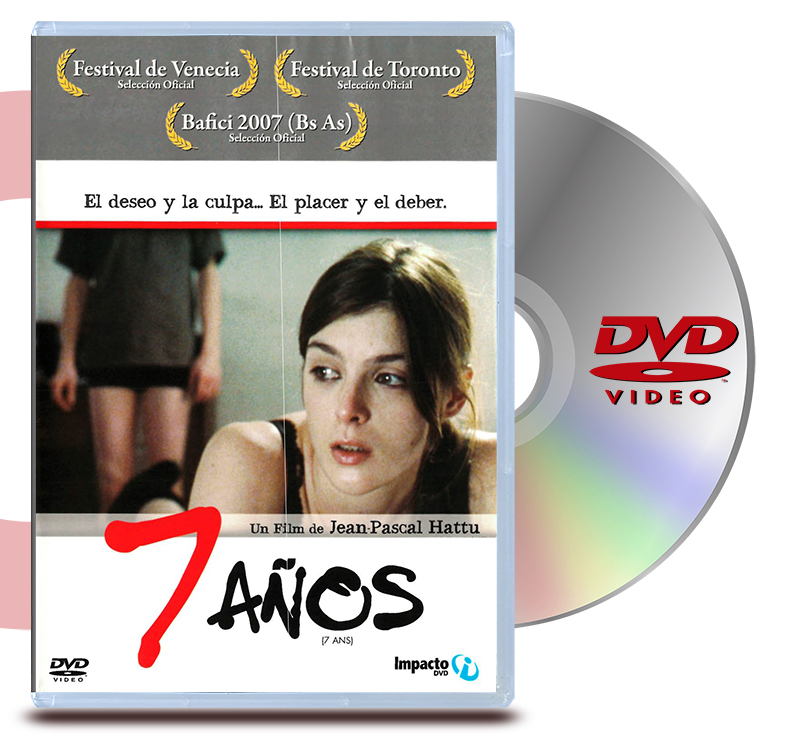 DVD Siete Años