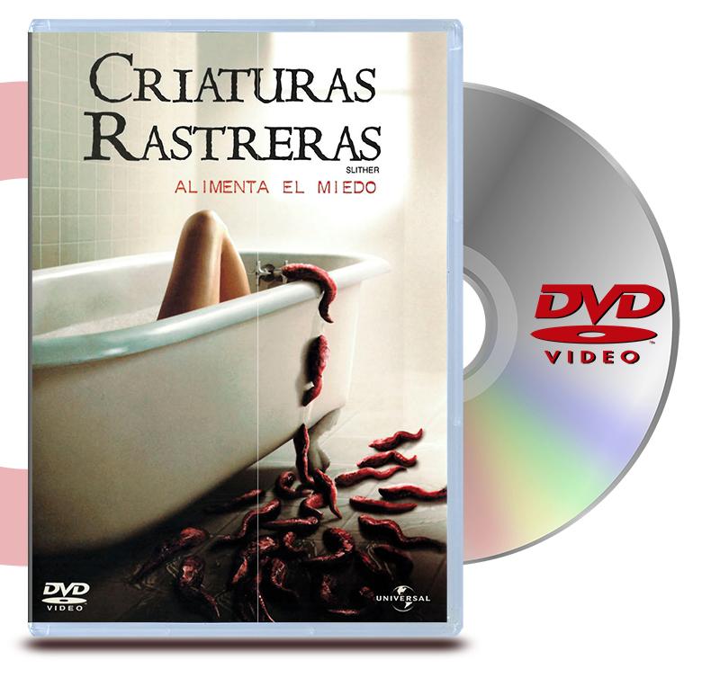 DVD Slither Criaturas Rastreras