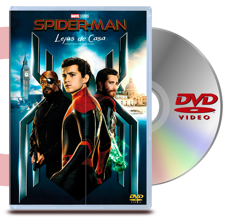 DVD Spider-Man: Lejos De Casa