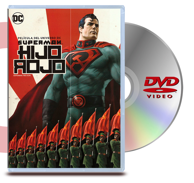DVD Superman Red Son