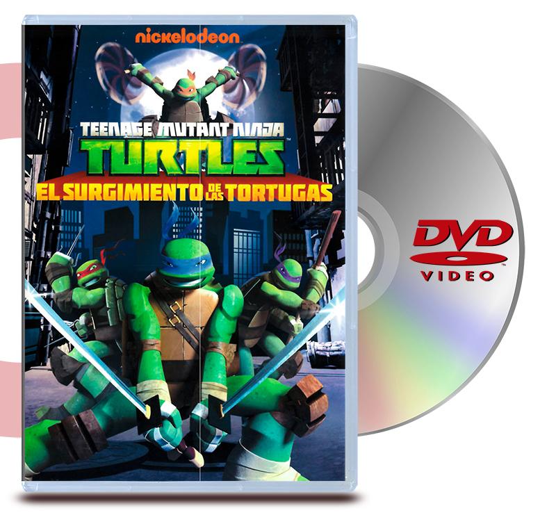 DVD Tortugas Ninja: El Surgimiento De Tortugas