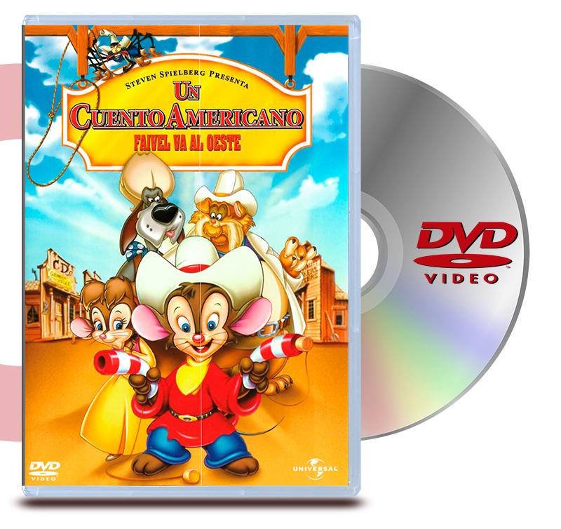 DVD Un Cuento Americano Faivel Va al Oeste