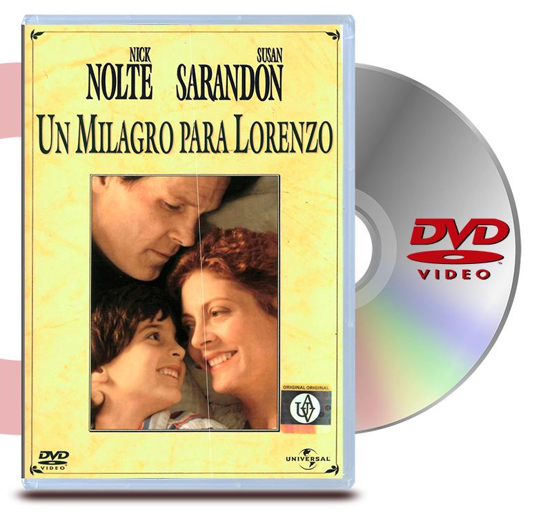 DVD Un Milagro Para Lorenzo