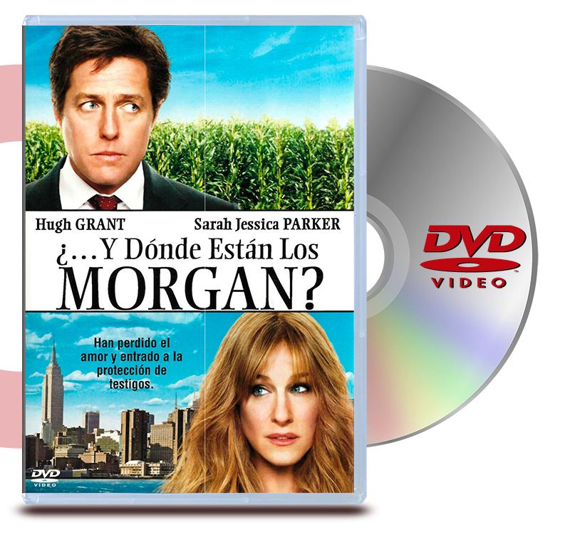 DVD Y Donde Estan Los Morgan