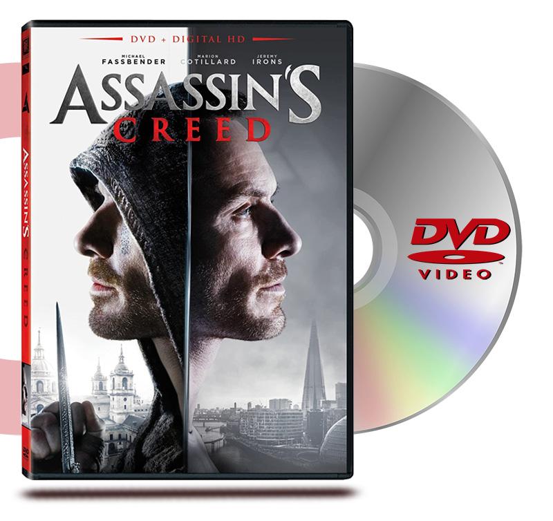 DVD Assassins Creed