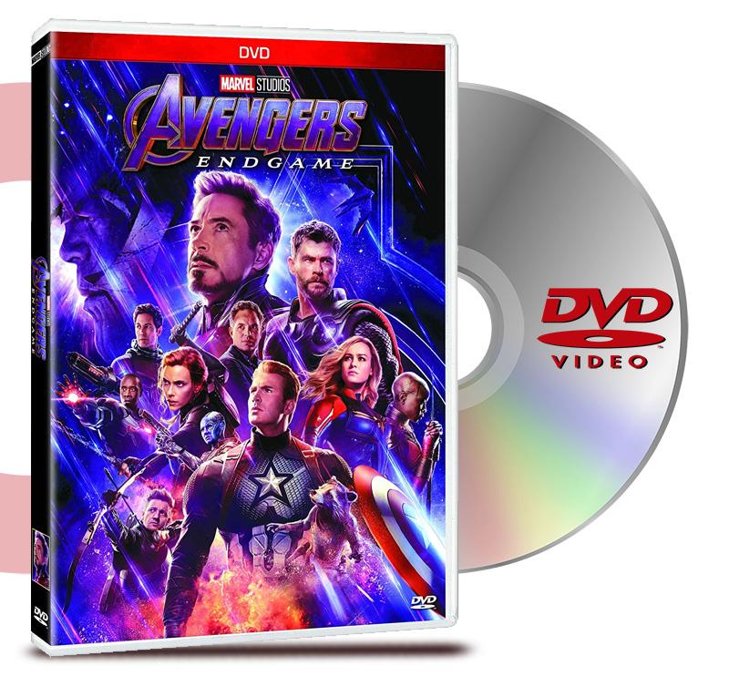 DVD Avengers End Game