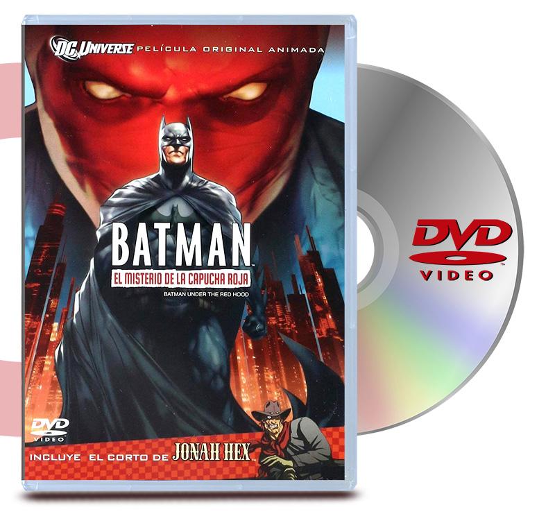 DVD Batman El Misterio De Capucha Roja