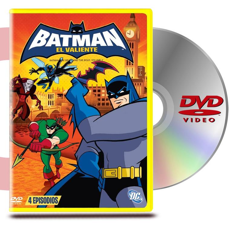 DVD Batman El Valiente Vol 2