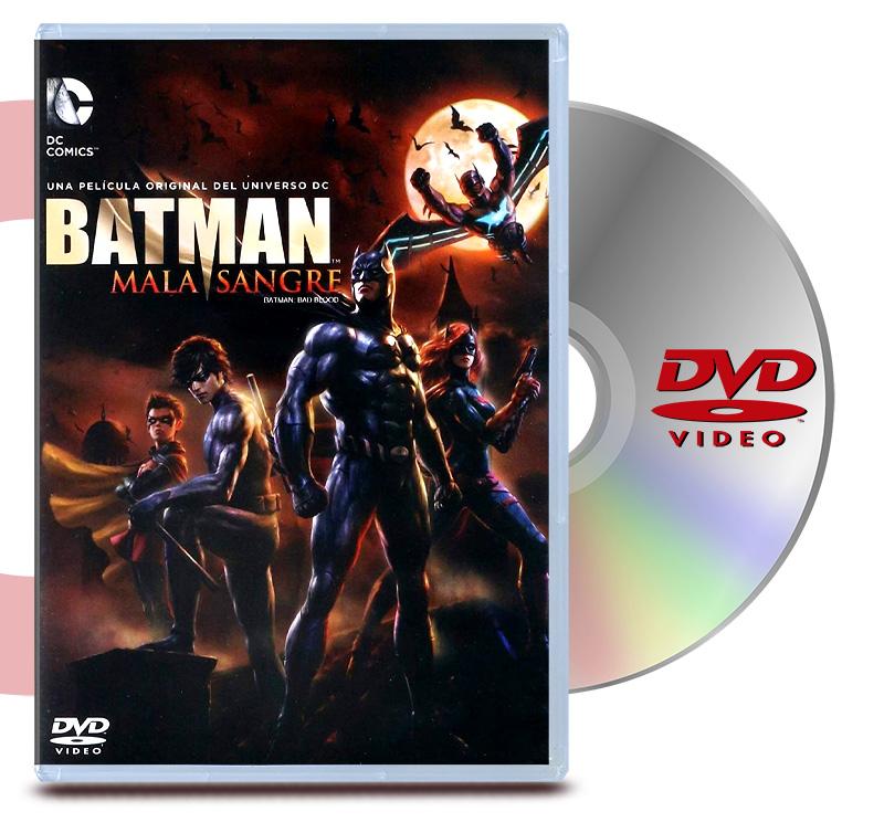 DVD Batman Mala Sangre