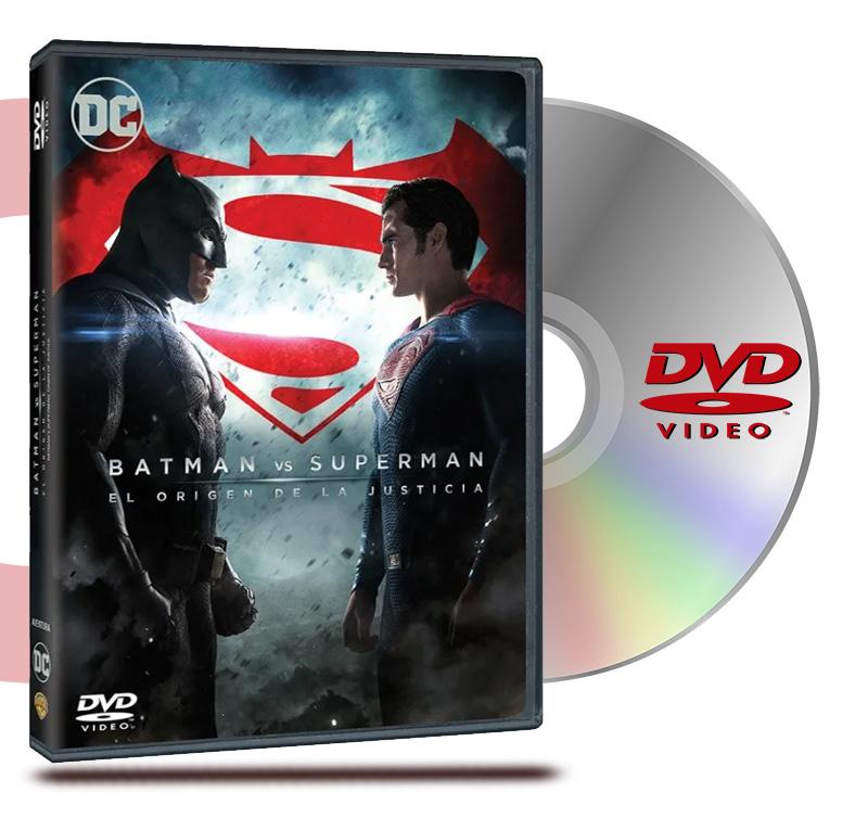 DVD Batman V/S Superman