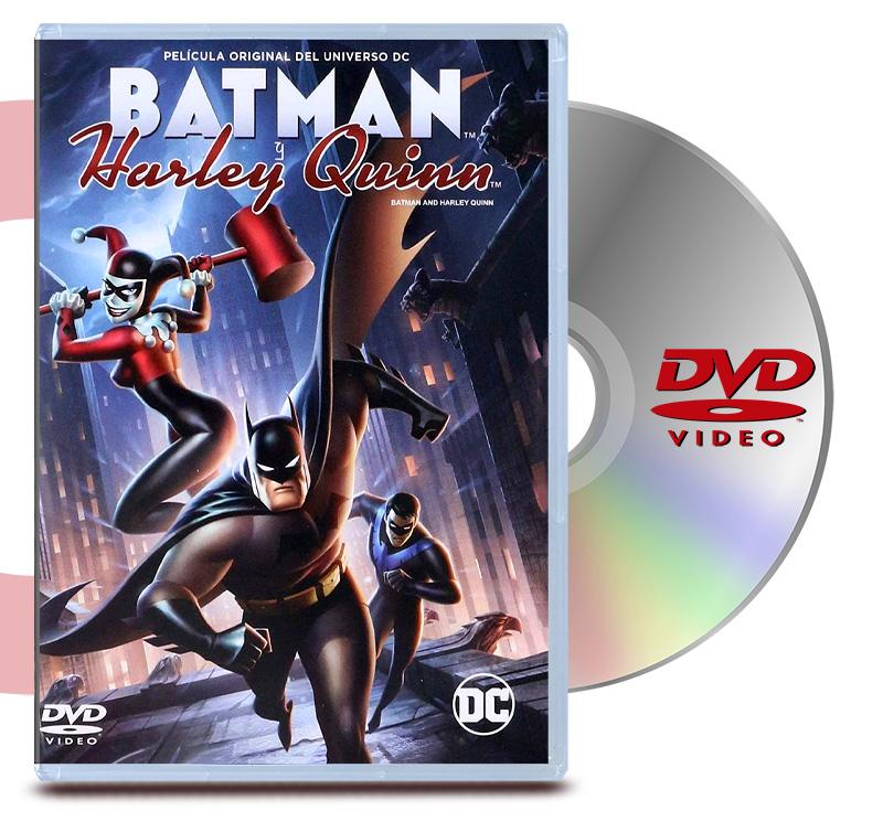 DVD Batman Y Harley Quinn
