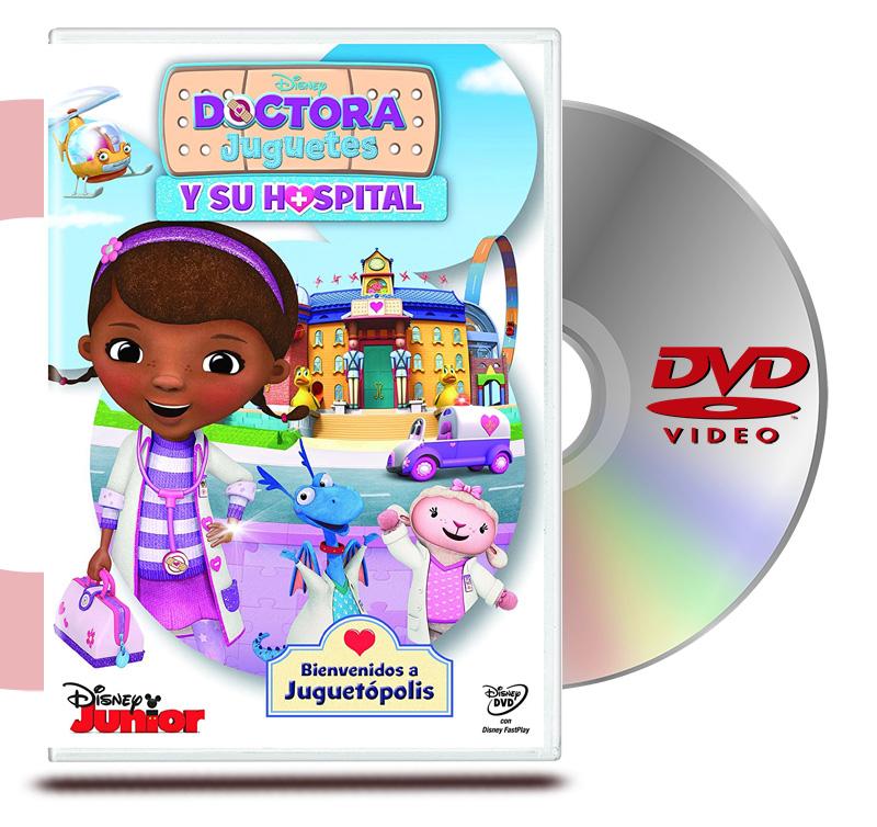 DVD Doctora Juguete Y Su Hospital