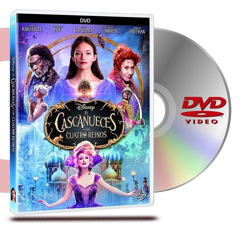 DVD El Cascanueces Y Los Cuatro Reinos