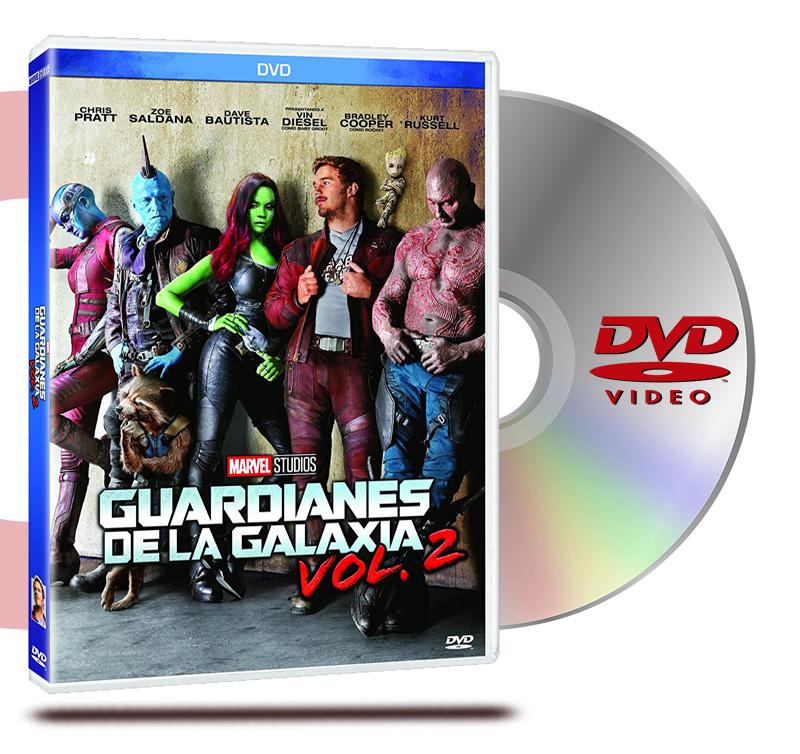 DVD Guardianes De La Galaxia Vol 2
