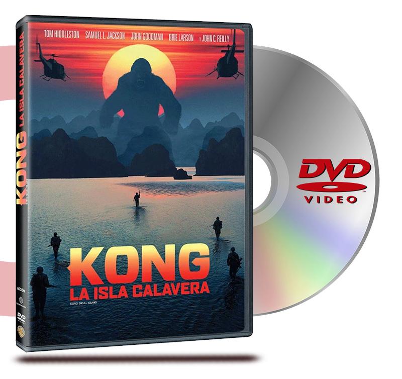 DVD Kong La Isla Calavera