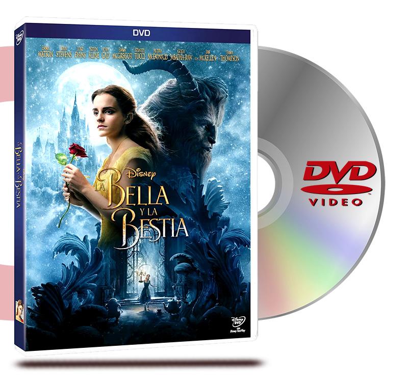 DVD La Bella Y La Bestia Live Action