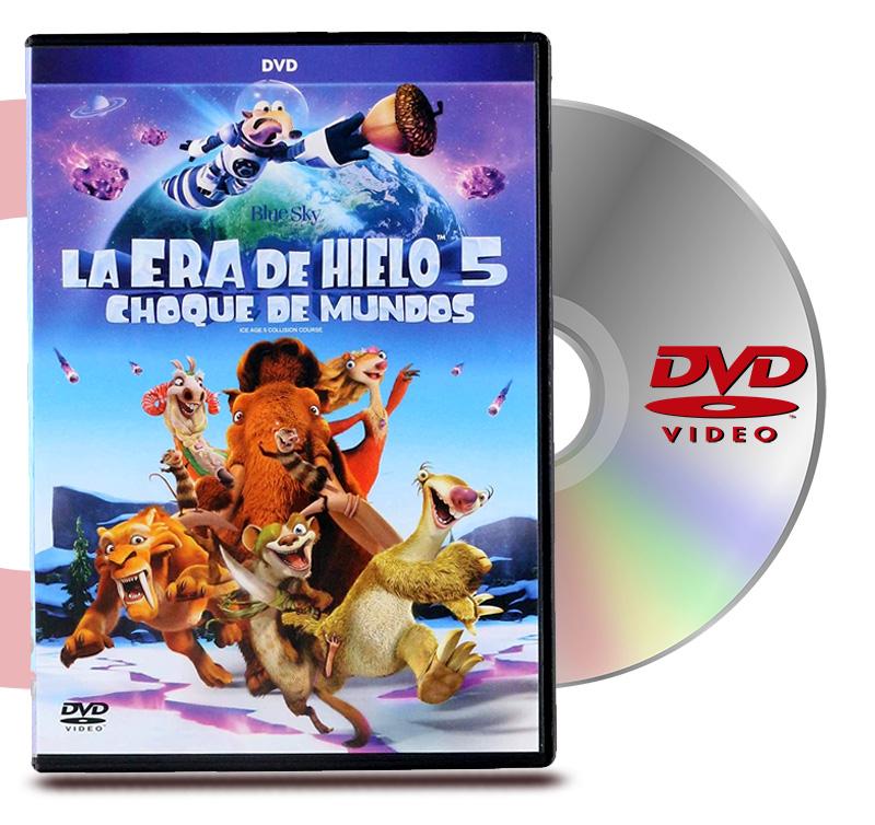 DVD La Era De Hielo Choque De Mundos