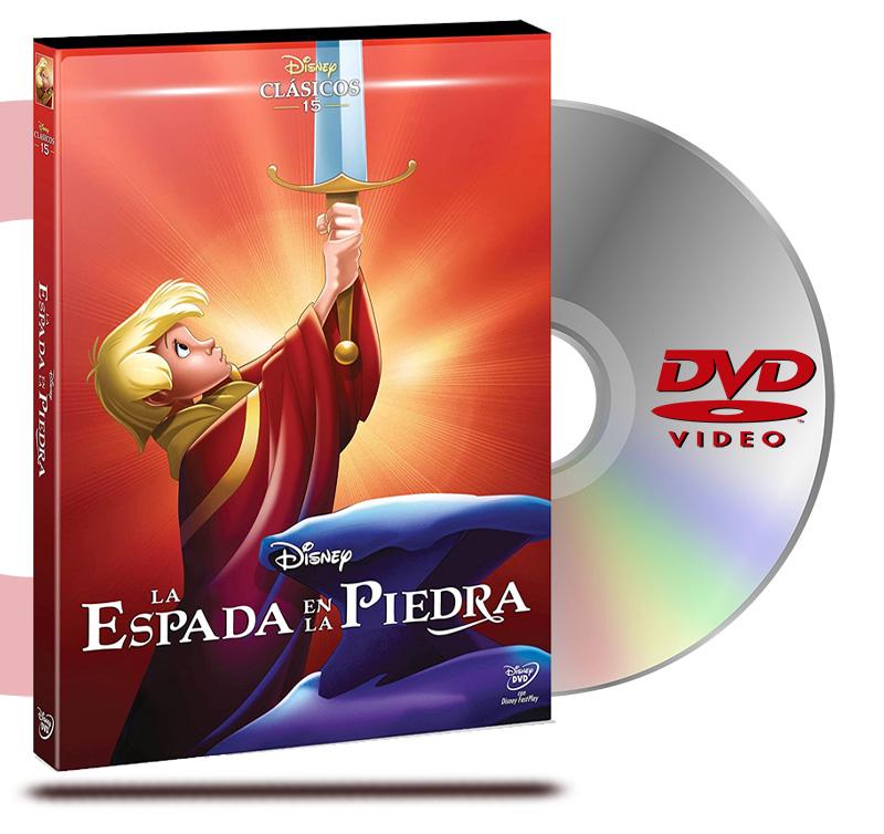 DVD La Espada En La Piedra