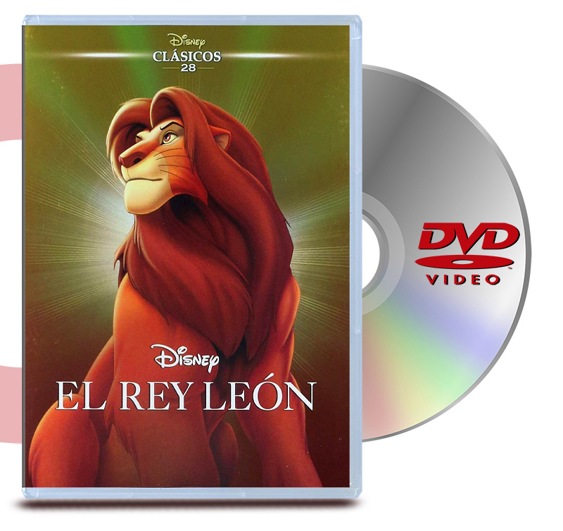 DVD Rey Leon