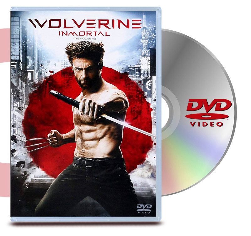 DVD Wolverine Inmortal