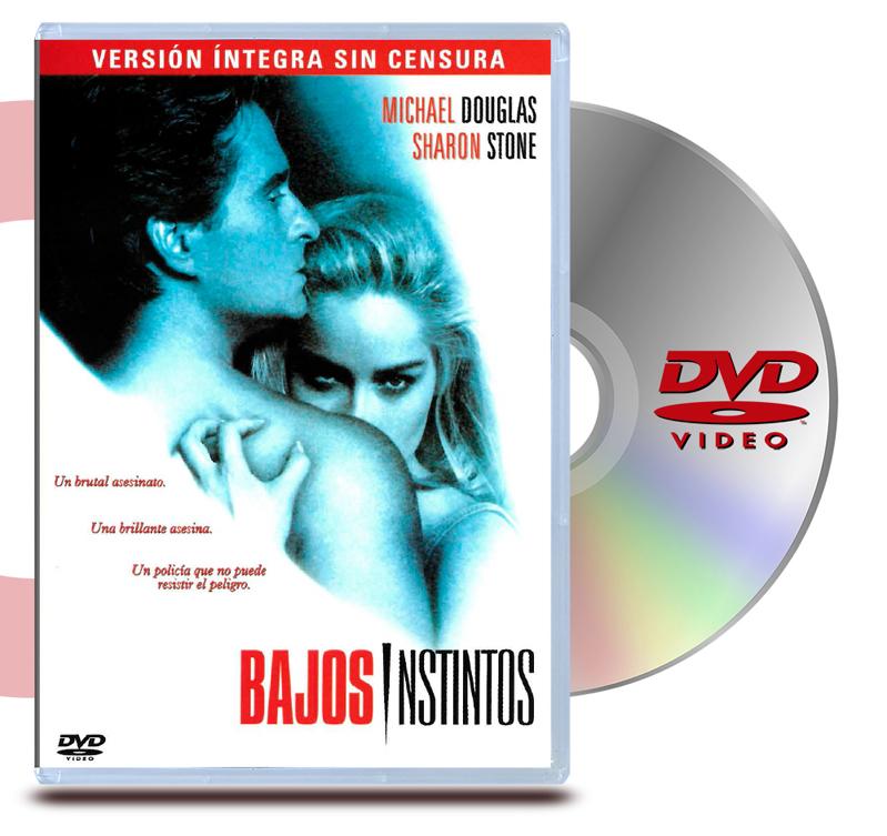 DVD Bajos Instintos