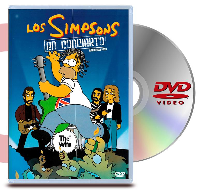DVD Los Simpson En Concierto