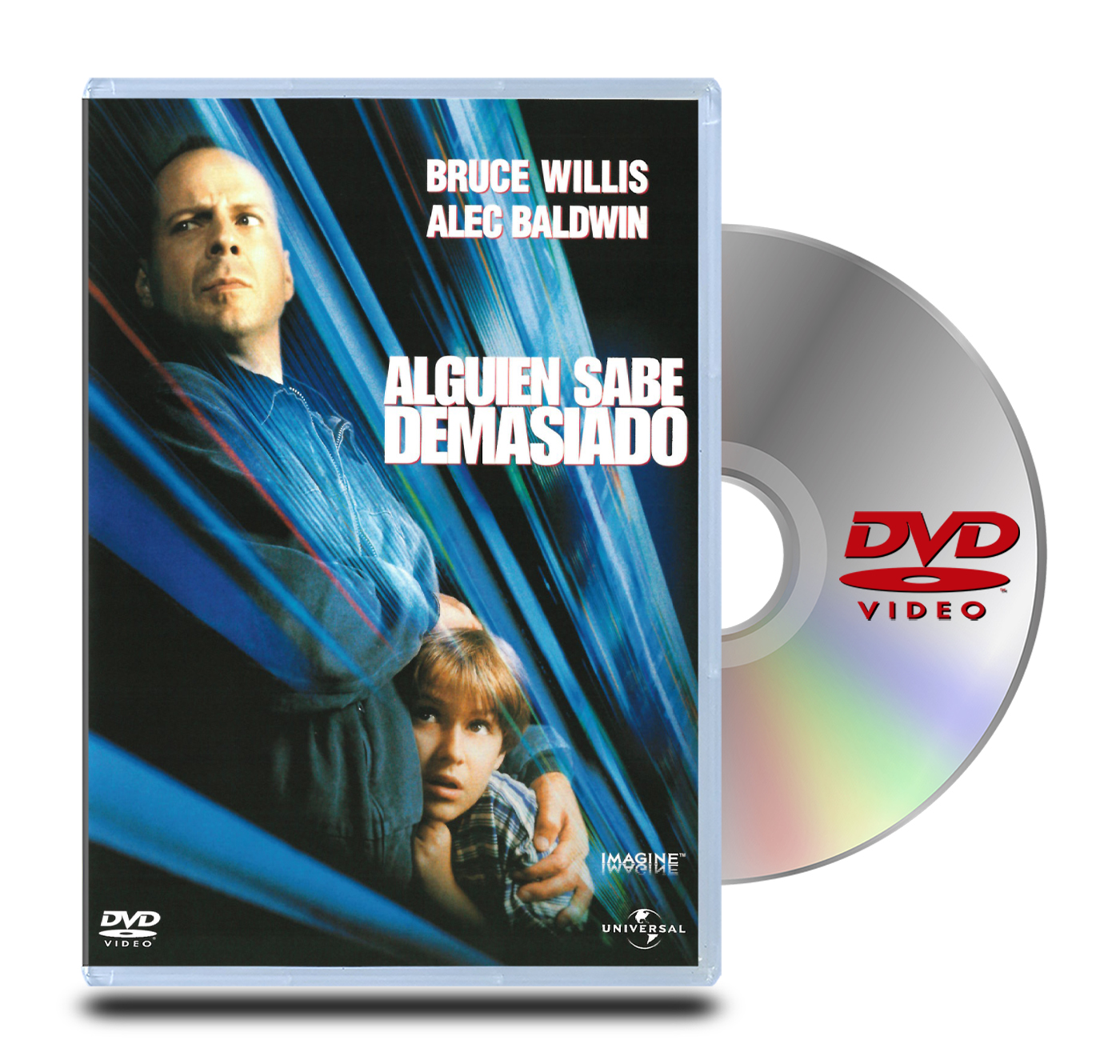DVD Alguien Sabe Demasiado