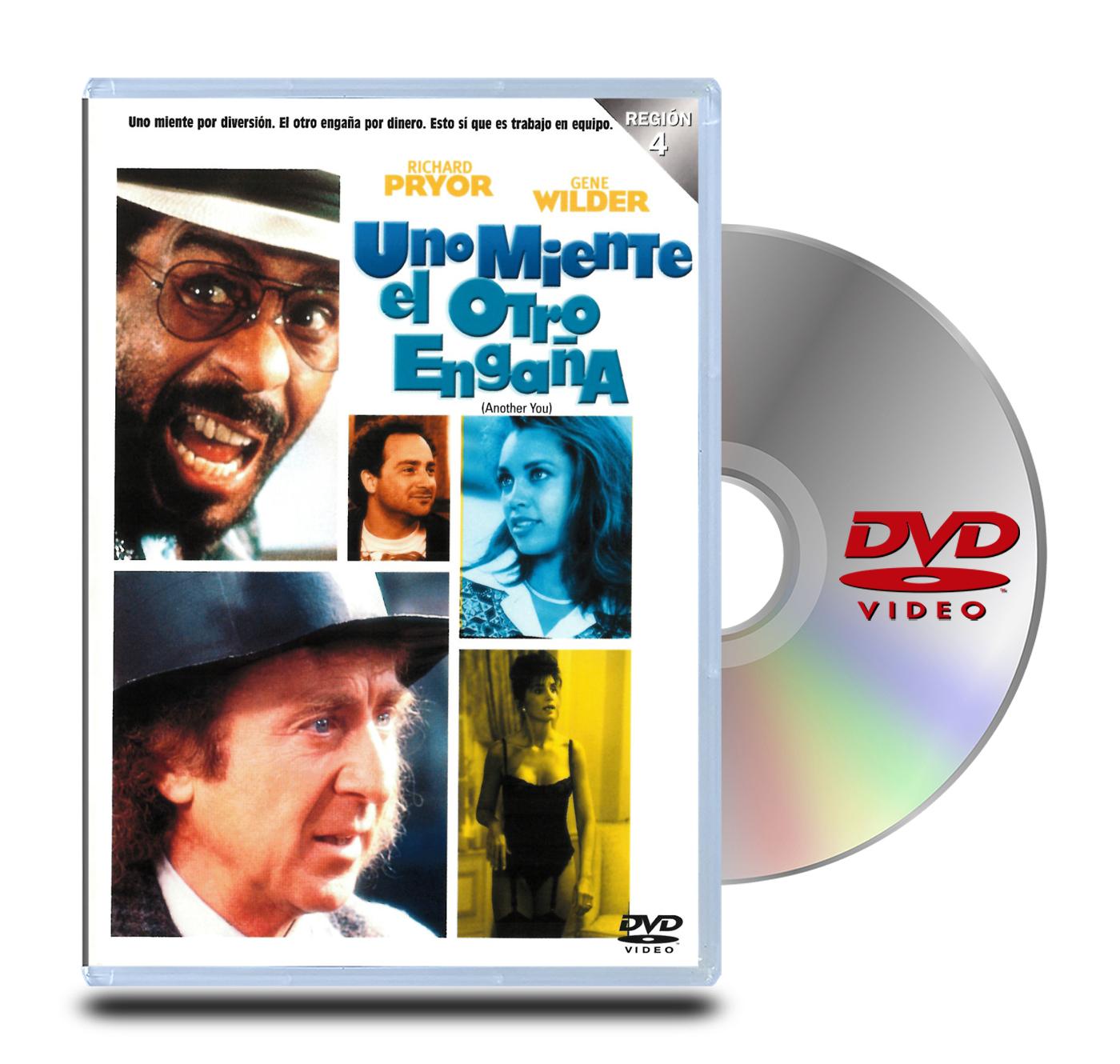 DVD Uno Miente El Otro Engaña