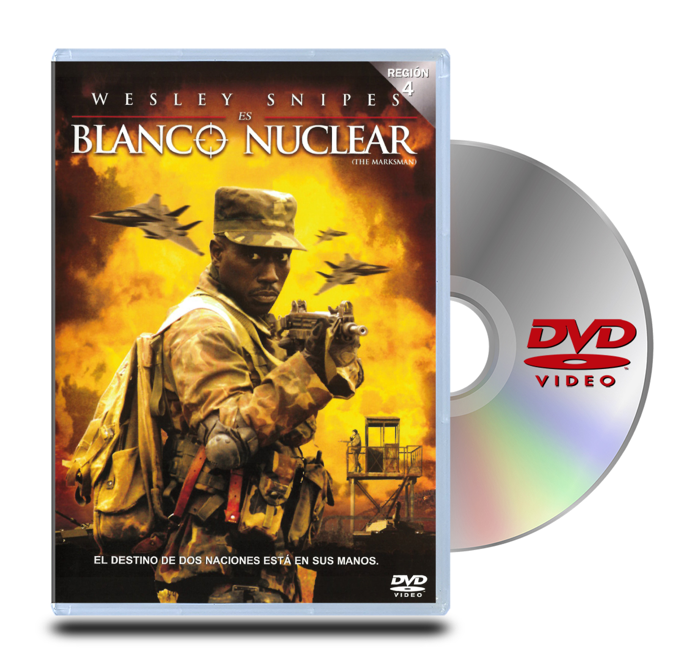 DVD Blanco Nuclear