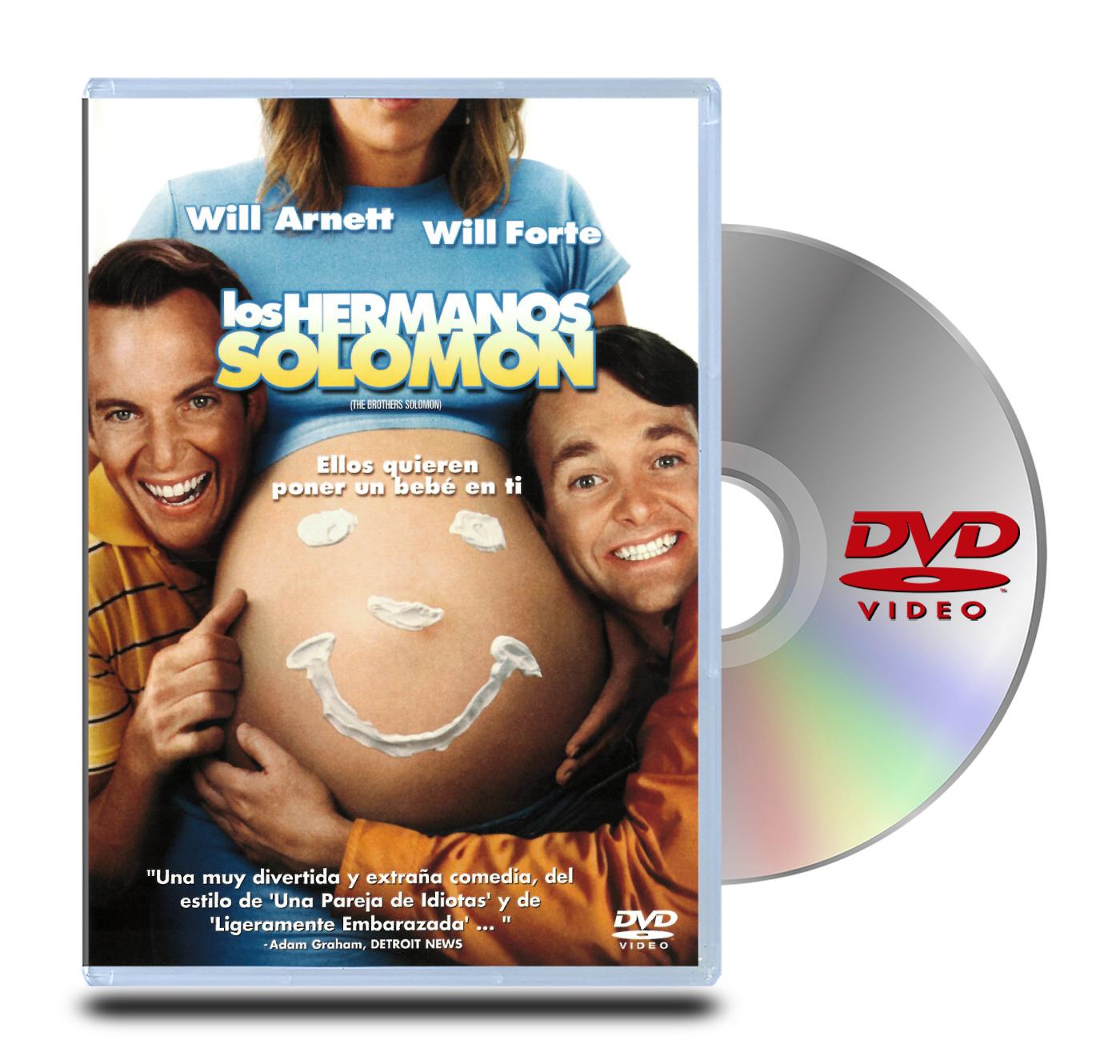 DVD Los Hermanos Solomon