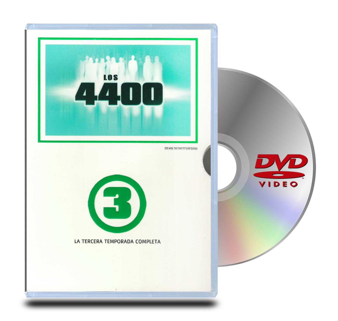 DVD 4400 Volumen 3 (4 Discos)