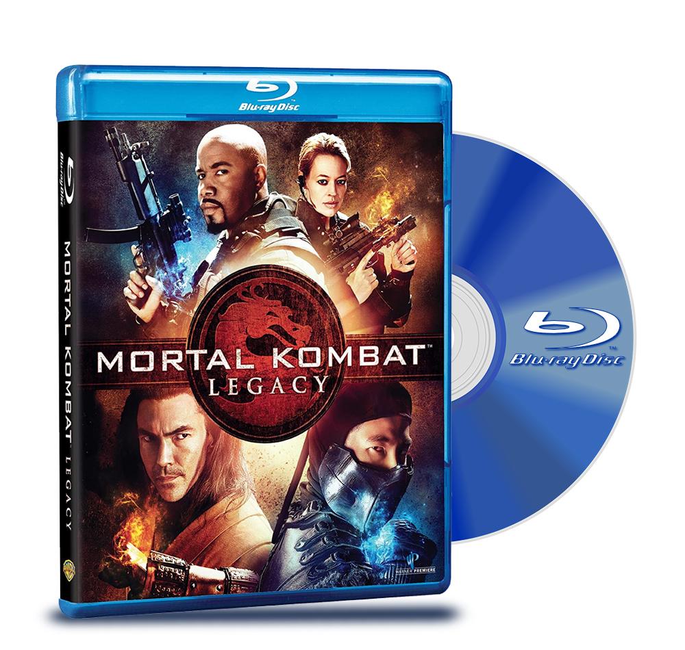 Bluray Mortal Kombat Legado