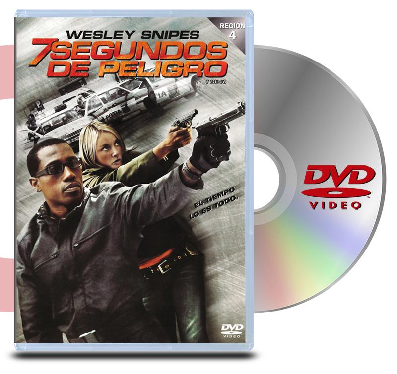 DVD 7 segundos de peligro